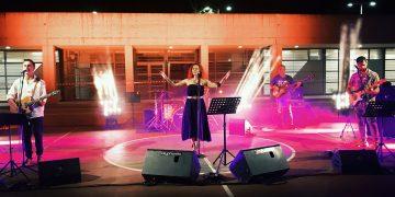 """Συναυλία από το μουσικό συγκρότημα """"SABOTAZ"""", στην κεντρική πλατεία Μεγαλόπολης,  29/08/2021"""